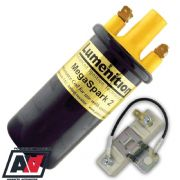 Lumenition Megaspark 2 Ignition Coil With Ballast Resistor Points Systems MS2